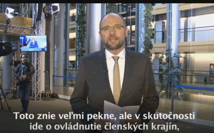 Slovenský europoslanec Richard Sulík, sa znovu ostro pustil do Európskej únie