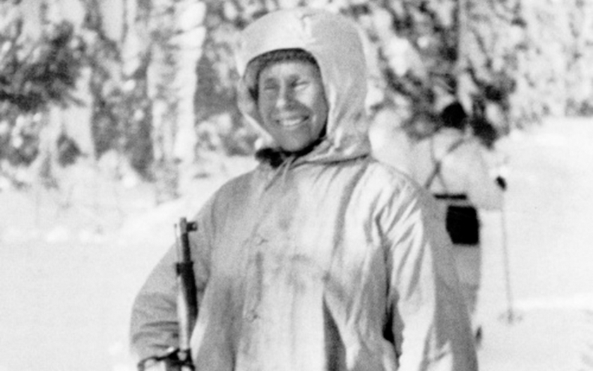 Finský odstřelovač &quote;Bílá smrt&quote; zabil 505 rudoarmějců během 100 dní