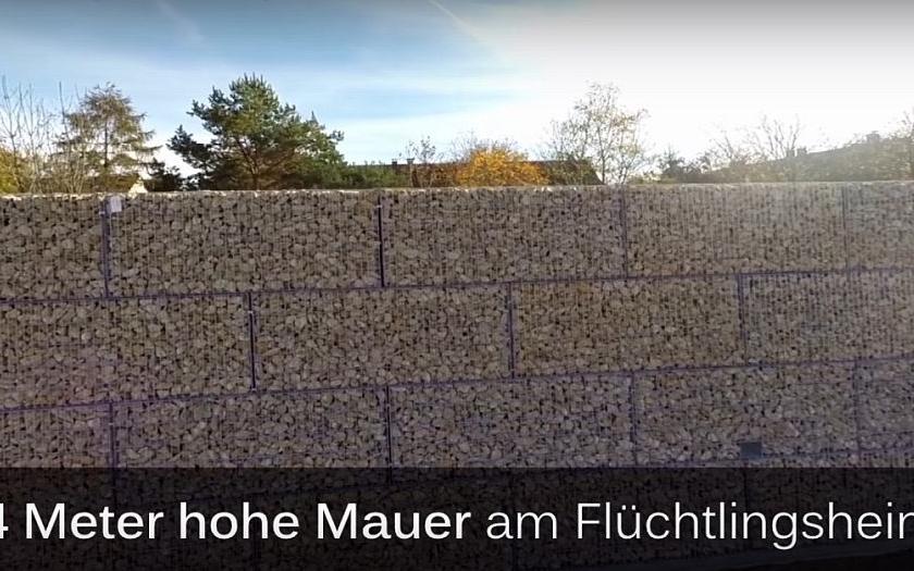 V Mnichově vyroste čtyřmetrová betonová zeď. Místní se bojí azylantů