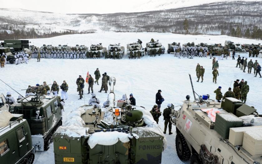 Rusko varuje Norsko před přítomností amerických vojáků. &quote;Stanete se potencionálním cílem ruského jaderného útoku&quote;
