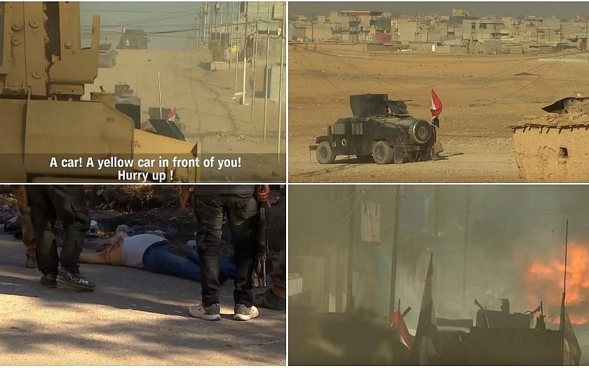 Video: Reportéři CNN dokumentovali bitvu s islámisty o irácký Mosul