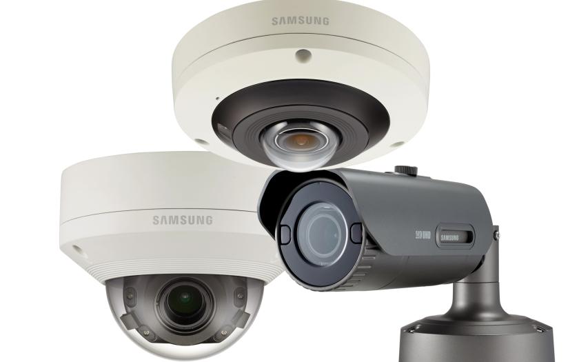 Digitální automatické sledování pomocí nových kamer z řady Samsung Wisenet P