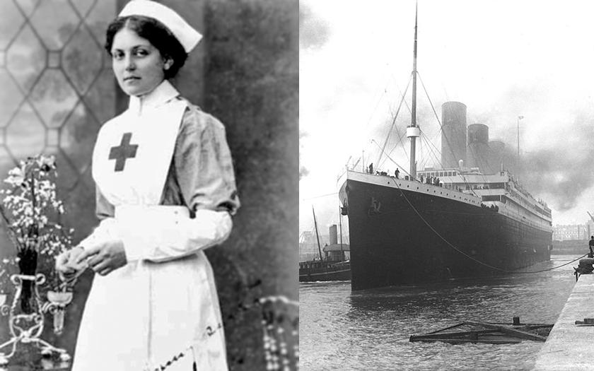 Nepotopitelná Violet Jessop, která přežila tuberkulózu, potopení Titanicu a Britannicu