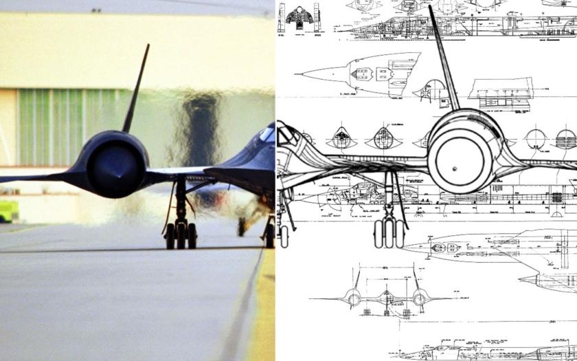 Počítač potvrdil, SR-71 Blackbird je prostě perfektní