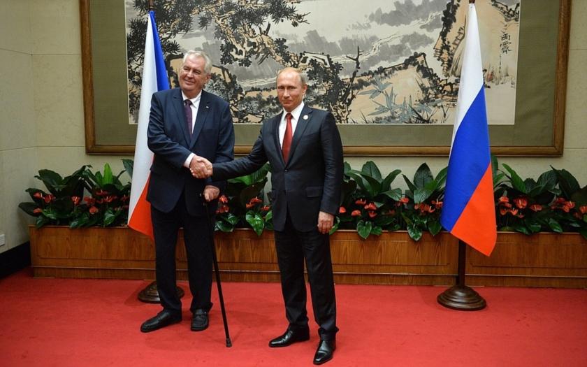 Za Putinovi věrného označil magazín Spiegel prezidenta Zemana
