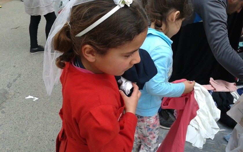 Karanténa v bulharském uprchlickém táboře v Harmanli