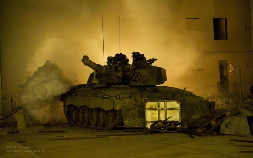Velká Británie se zbavuje hlavních bitevních tanků