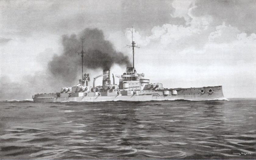 SMS Nassau - první moderní bitevní loď německého císařského námořnictva