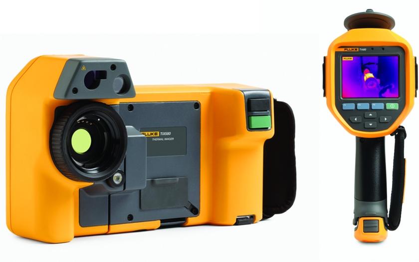 Nové termokamery Fluke nabízejí mimořádnou kvalitu obrazu s rozlišením 640 × 480 pro rychlé zjišťování problémů v oblasti údržby