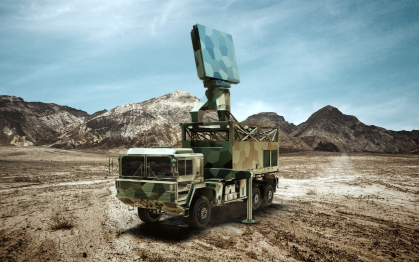 Radary Giraffe od Saabu najdou UAV i letouny stealth