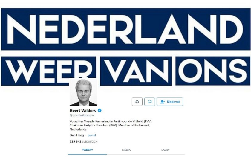 Video: Geert Wilders zveřejnil video z azylového zařízení v nizozemském Apeldoornu
