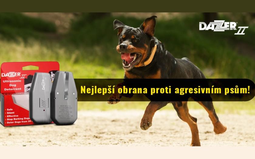 Ultrazvuk spolehlivě odežene psa!