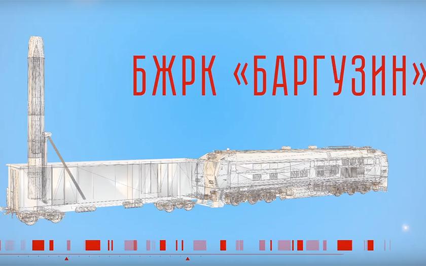 Ruský atomový vlak posledního soudu se vrací