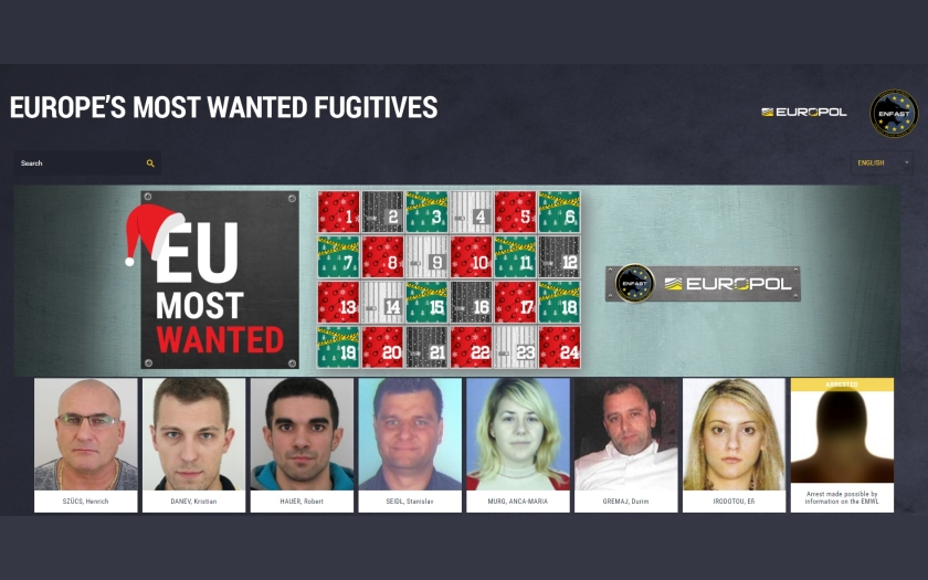 Úspěch adventního kalendáře Europolu. V Nizozemsku zadrželi muže podezřelého ze sexuálního napadení dítěte