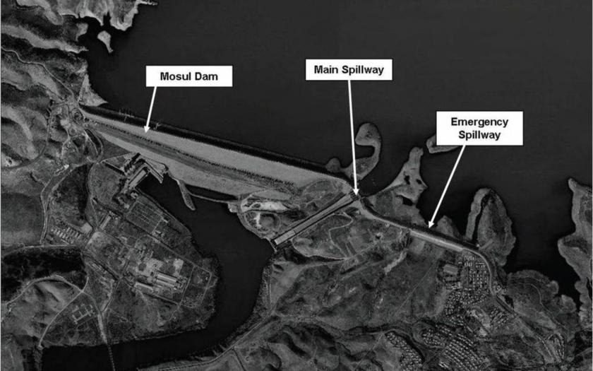 Hrozí protržení přehrady u iráckého Mosulu. Následky by byly srovnatelné s jaderným výbuchem