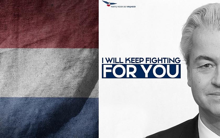Popularita &quote;protiislámské&quote; strany Geerta Wilderse raketově roste. I kvůli soudnímu procesu