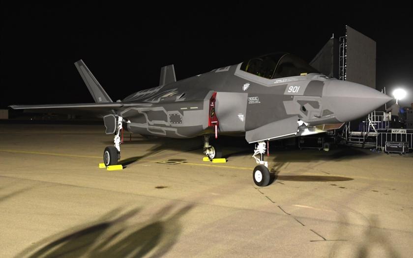 Video: První F-35 Adir v Izraeli