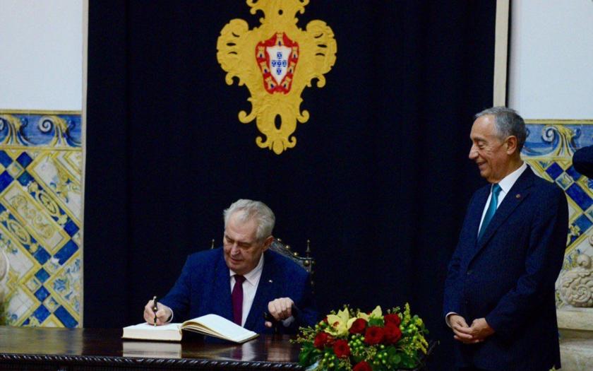 Prezident Zeman proti všem. Tentokrát o situaci v Sýrii