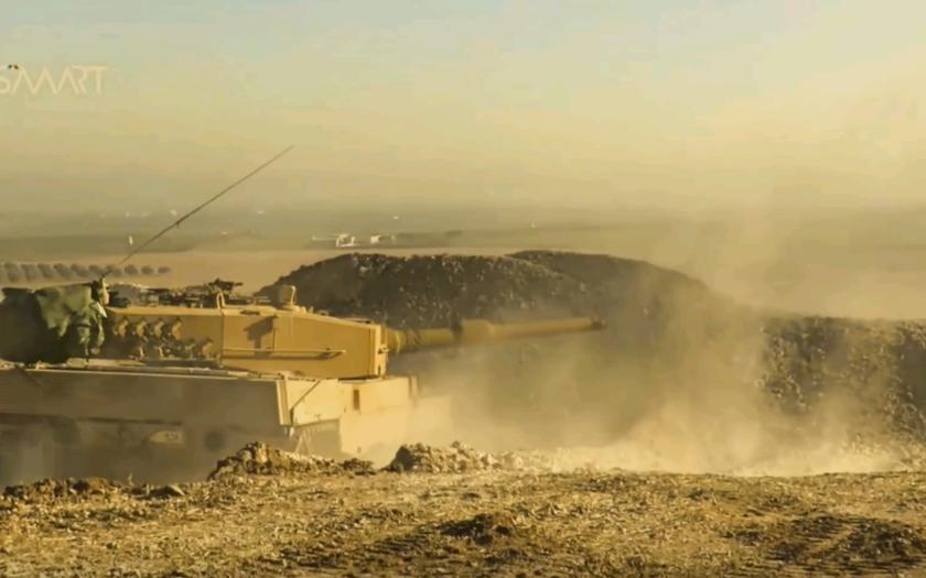 Potvrdené! Turecko používa v Sýrii nemecké tanky Leopard 2A4 (VIDEO)