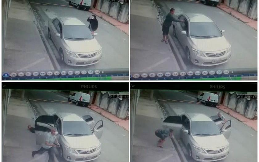 Video: Taxikář zastřelil tři pasažéry, kteří se ho pokusili okrást