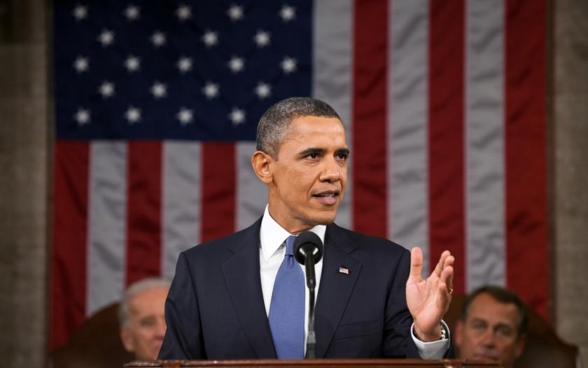 Obama si věří, prezidentské volby by prý vyhrál znovu. Trump se mu vysmál