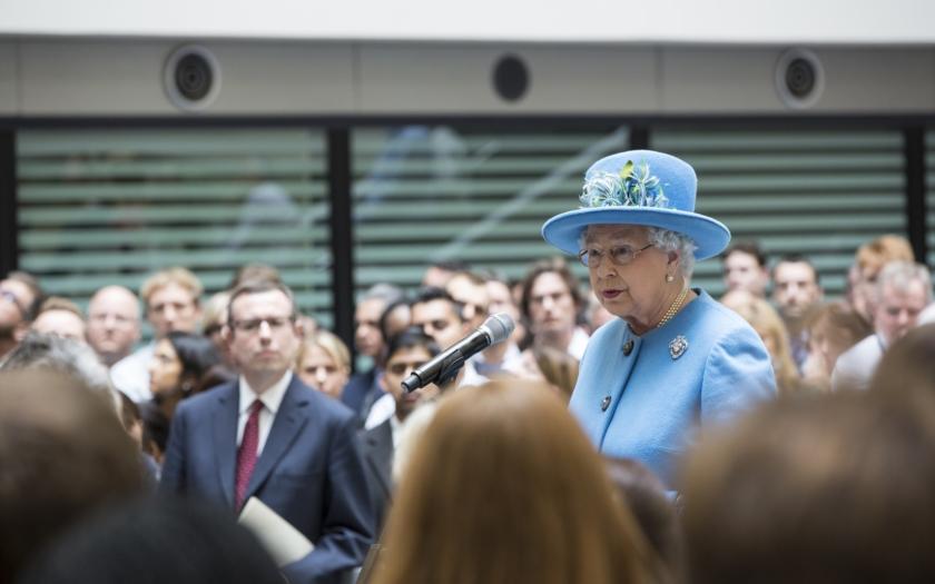 Britská královna Alžběta II. k brexitu: &quote;Nevidím důvod, proč nemůžeme prostě odejít. V čem je problém?&quote;