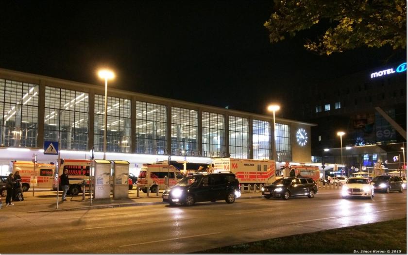Bitka mezi migranty na vídeňském nádraží. &quote;Necítíme se tu bezpečně&quote; stěžují si místní podnikatelé
