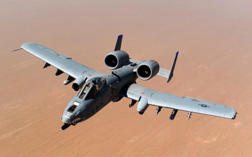 Angažované A-10 Thunderbolt II získali nový upgrade