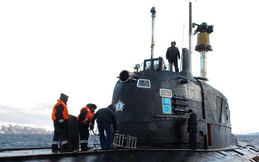 Srážka jaderných titánů: Hra na kočku a myš ruské a americké ponorce nevyšla