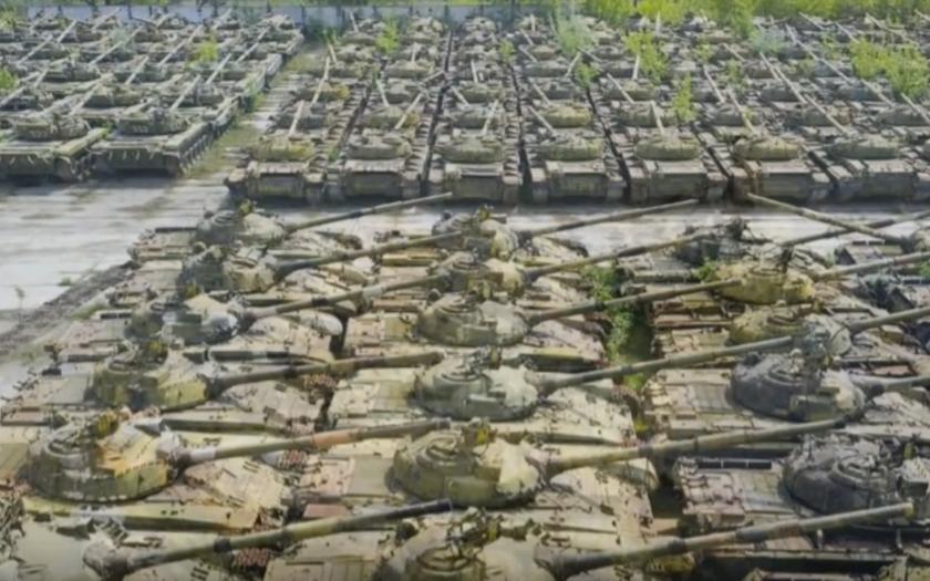 Fascinující připomínky války - opuštěné tanky po celém světě