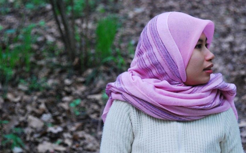 Pokračování hidžábového soudu: Řev, transparenty a neúspěšná žaloby muslimky