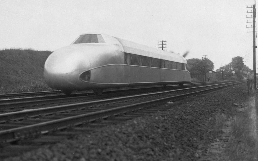 Kolejový zepelín - nacistický vlak s vrtulí