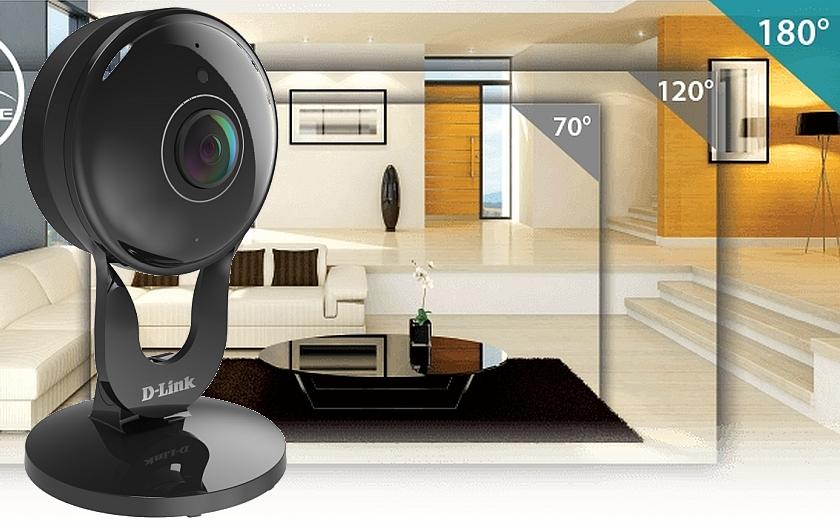 S nejnovější širokoúhlou 180° kamerou od D-Link získáte lepší přehled o všem, na čem vám nejvíce záleží