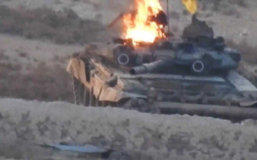 Ruské a německé tanky přicházejí v Sýrii o aureolu neporazitelnosti
