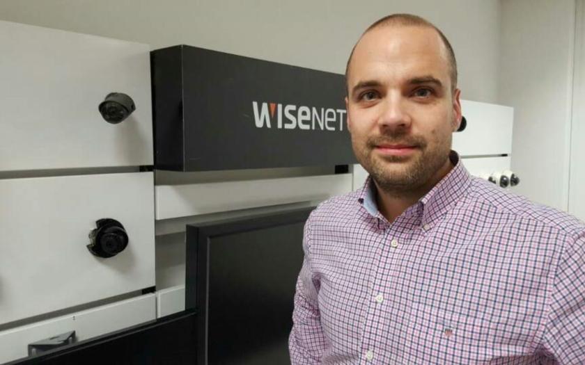Lukáš Lener (Hanwha Techwin Europe): Nasloucháme a inovujeme