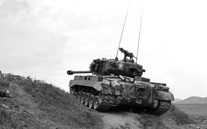 M26 Pershing - jediný západní tank lepší než Tigery a Panthery?