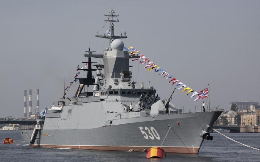 První ruská korveta třídy 20380 pro Pacifickou flotilu vyplula na zkoušky