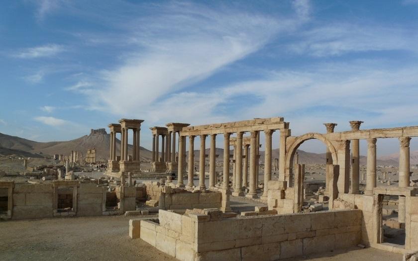 VIDEO: Rusko zveřejnilo záběry Palmýry, IS město znovu ničí