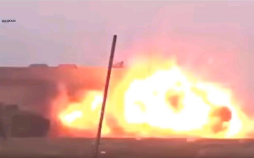 (VIDEO) Neúspešný útok Džihádistu, odpálil len sám seba
