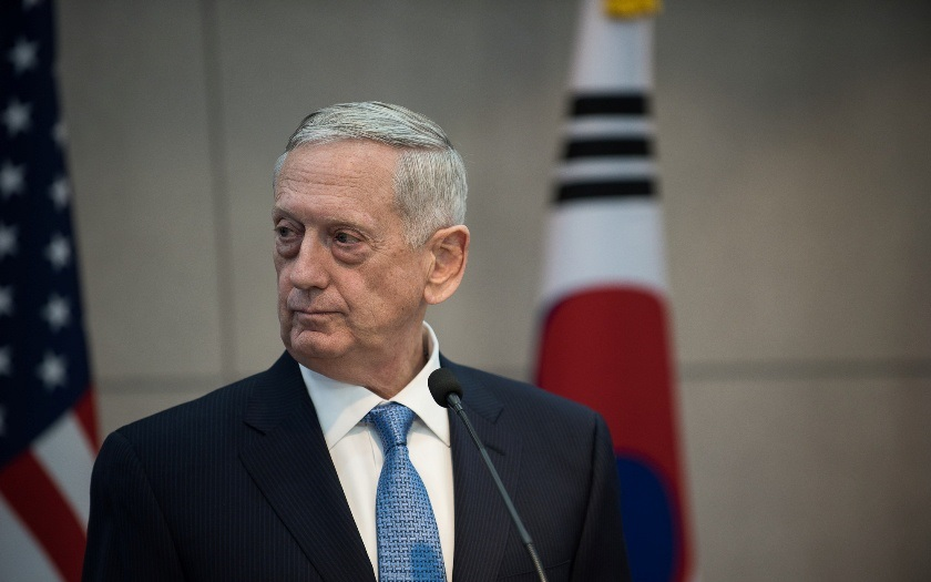 Mattis mírní ostrost Trumpova vyjádření k možným jednáním s KLDR