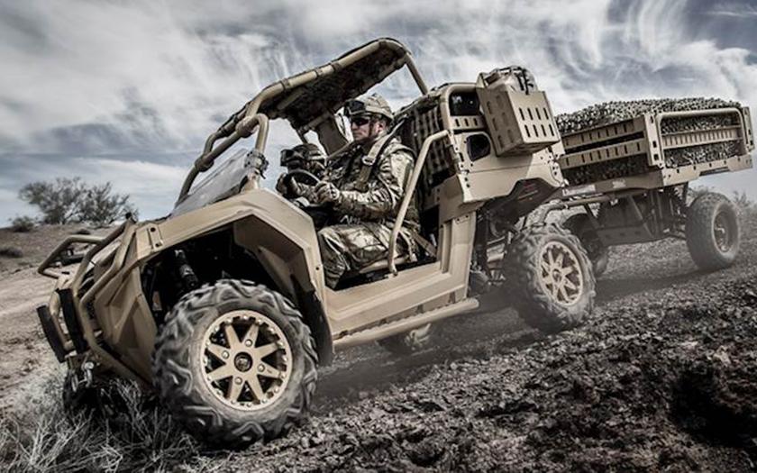 Polaris představil nový terénní stroj pro vojáky