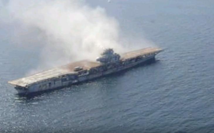 (VIDEO) Nútené potopenie lietadlovej lode USS Oriskany