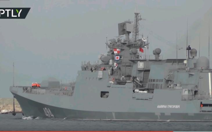 Ruská fregata miery do Stredozemného mora, údajne smeruje k Sýrii