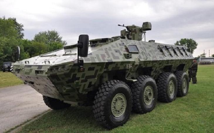 Srbsko zařadilo do služby obrněná vozidla Lazar III