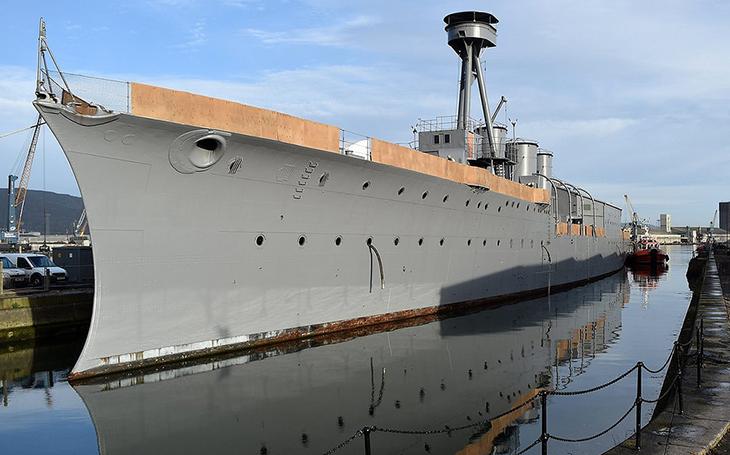 HMS Caroline - poslední přeživší z bitvy u Jutska