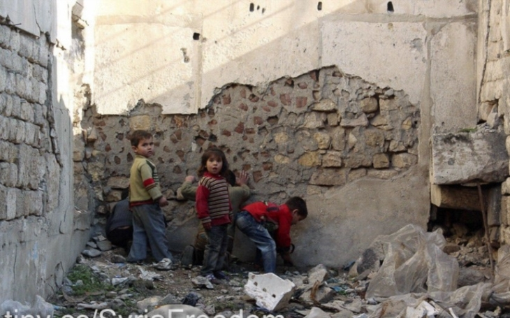 Syrské děti: Zemi decimují sankce USA a EU více než válka