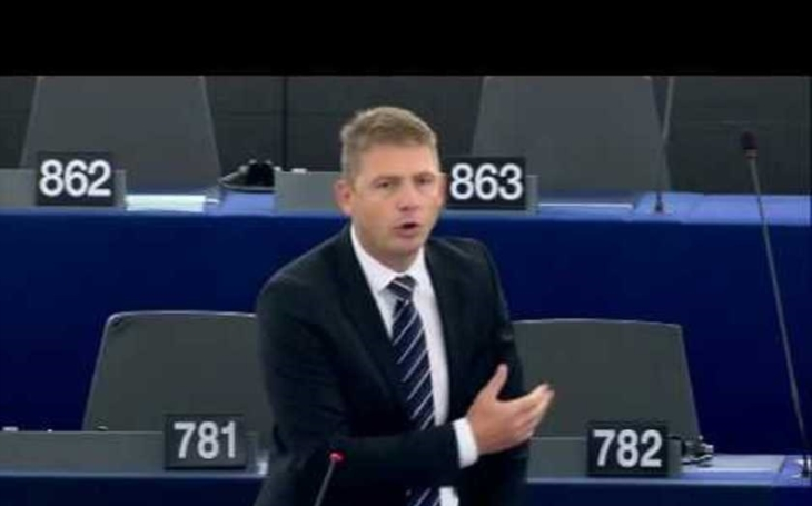 VIDEO: EU je v procesu rozpadu, hřímal šéf Svobodných Petr Mach