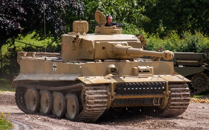 (VIDEO) Jediný plne funkčný originálny tank TIGER