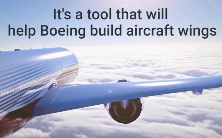 Budúcnosť lietadiel Boeing ? 3D tlačiarne dokážu vytvoriť lacnejšie a kvalitnejšie varianty krídiel pre lietadlá