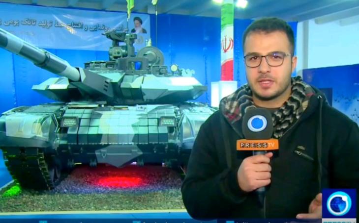 Irán predstavil svoj nový bojový tank Karrar, vyzerá ako dvojník T-90,  Irán to však odmieta. Posúďte sami.